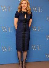 Синее платье вечернее для женщин 50 лет