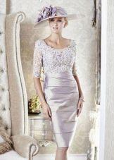 Платье для стройной мамы невесты