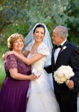 Мама невесты в платье