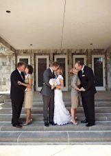 Платье-футляр для мам на свадьбу сина