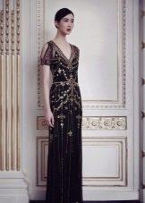 Вечернее черное платье от Дженни Пэкхем
