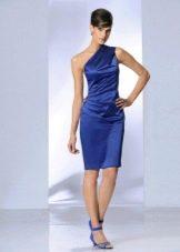 Вечернее платье на одно плечо дешевое