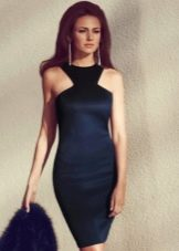 Платье-футляр вечернее недорогое черное