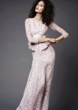 Вечернее платье от Zac Posen белое