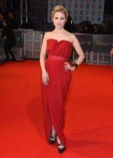 Вечернее платье от Lanvin прямое