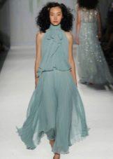 Вечернее платье от Jenny Packham с открытыми плечами