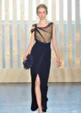 Вечернее платье от Jenny Packham синее