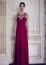 Вечернее платье от Jenny Packham малиновое