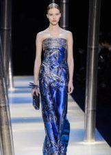 Блестящее платье вечернее от Армани