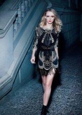 Вечернее клубное платье короткое
