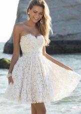9934c5ec6a94e46 Короткие вечерние платья: красивые модели, с рукавами и пышные (74 фото)
