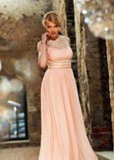 Вечернее платье в стиле ампир шифоновое легкое