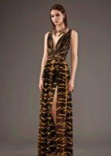 Вечернее платье от Roberto Cavalli в пол