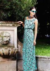 Вечернее платье от Roberto Cavalli со звериным принтом