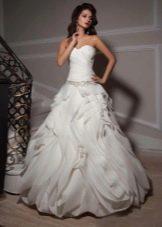 низкая талия в свадебном платье