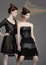Вечернее платье от Vanessa Montoro черные