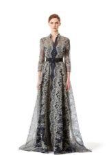 Кружевное платье вечернее от Каролины Хереры