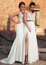 Свадебное платье летнее из коллекции Crystal Desing 2014