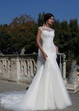 Свадебное платье рыбка от Кристал дизайн