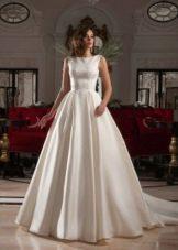 Свадебное платье из коллекции Crystal Design 2015 с кружевом