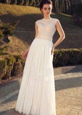 Свадебное платье с закрытым верхом из коллекции Crystal Desing 2014