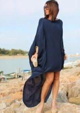 вечернее платье oversize короткое