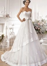 Свадебное платье многоярусное из коллекции Idylly от Naviblue Bridal