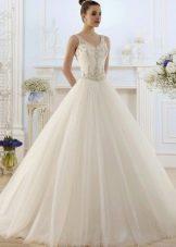 Свадебное платье с корсетом из коллекции ROMANCE от Naviblue Bridal