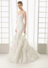 Свадебное платье 2016 русалка