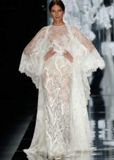 Свадебное кружевное платье от Yolan Cris 2016