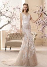 Свадебное платье русалка от Саботин