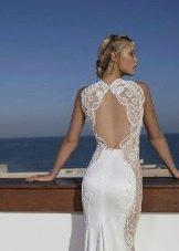 Свадебное платье с частично открытой спиной от Рики Далала 2016