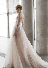 Свадебное платье с кружевным корсетом от Аврора