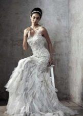 Свадебное платье с верхом из кружева