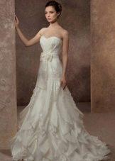 Свадебное платье  а-силуэта из коллекции Волшебные сны от gabbiano