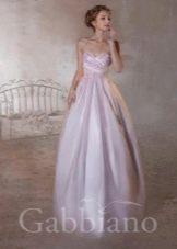 Свадебное платье розовое из коллекции Тайные желания от gabbiano