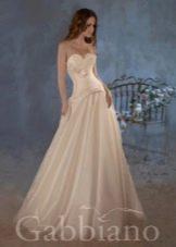 Свадебное платье с корсетом из коллекции Тайные желания от gabbiano