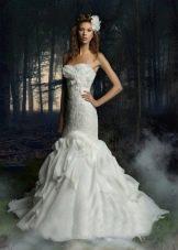 Свадебное платье годе из коллекции Тайные желания от gabbiano
