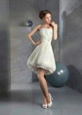 Свадебное платье короткое из коллекции Тайные желания от gabbiano