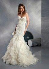 Свадебное платье русалка из коллекции Тайные желания от gabbiano