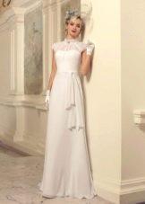 Свадебное платье с кружевом из коллекции Jazz Sounds Татьяны Каплун
