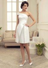Свадебное платье короткое из коллекции Утомленные роскошью Татьяны Каплун