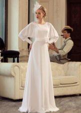 Свадебное платье закрытое из коллекции Jazz Sounds Татьяны Каплун