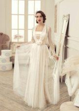 Свадебное платье с накидкой от Татьяны Каплун