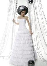 Свадебное платье из коллекции Кураж многослойное