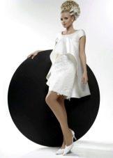 Свадебное платье из коллекции Кураж короткое