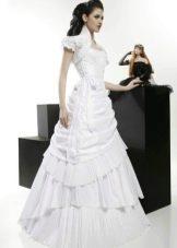 Свадебное платье из коллекции Кураж а-силуэта