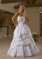 Свадебное платье из коллекции Femme Fatale многоярусное
