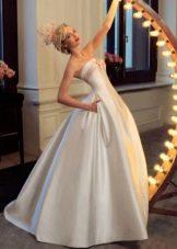 Свадебное платье а-силуэта от Татьяны Каплун