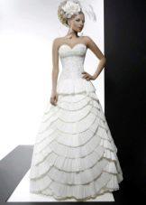 Свадебное платье из коллекции кураж